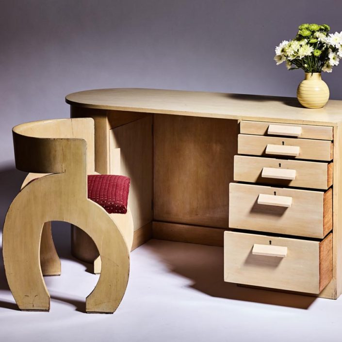 Gerald Summers Desk & Chair 1934